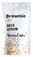 Кремовый скраб для лица на основе кофе Brownie Face Scrub, 100 г