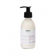 Молочко для очищения кожи - Make It Clear face cleansing milk emulsion, Veoli Botanica 200 мл