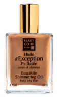 Драгоценное масло с шиммером - Huile d'Exception Shimmer MARY COHR, 50 мл