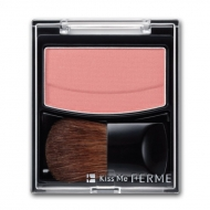 Компактные румяна ISEHAN Kiss Me Ferme Brightning Cheek Color, 2,9 г