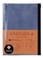 Блокнот STORAGE.it Denim M (B6+) Синий, 1 шт.